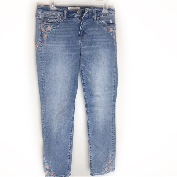 Lucky Brand Denim - Lucky Embroidered Lolita Jeans